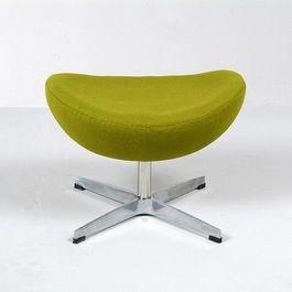 Jacobsen: Egg Chair Ottoman Reproduction More: Http://foter.com/