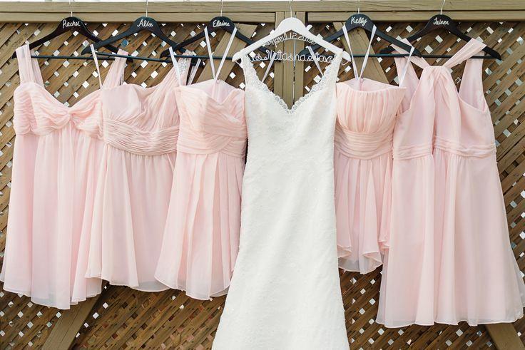 Les 25 Meilleures Id Es Concernant Demoiselles D 39 Honneur En Rose Tendre Sur Pinterest Robes De