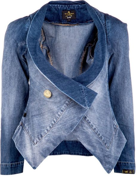 vivienne-Westwood-anglomania/Fitted Denim Jacket
