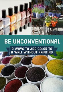 Review This!: 3 Ways to Add Color to Your Wall Without Painting