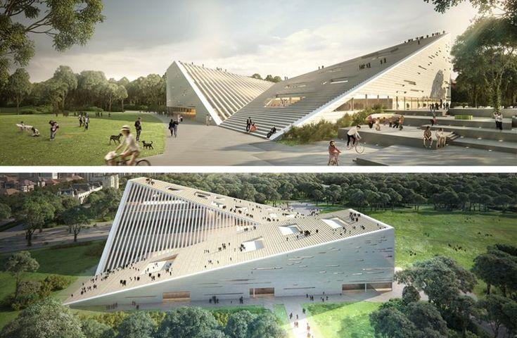 SANAA és Snøhetta: építészeti sztárparádé az Új Nemzeti Galéria-Ludwig Múzeum tervpályázaton