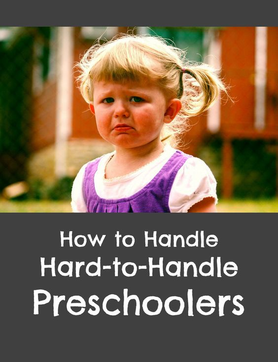 Strategies for dealing with disruptive behavior in preschool children, including tattling, blurting out, and conflict or arguing between students.: