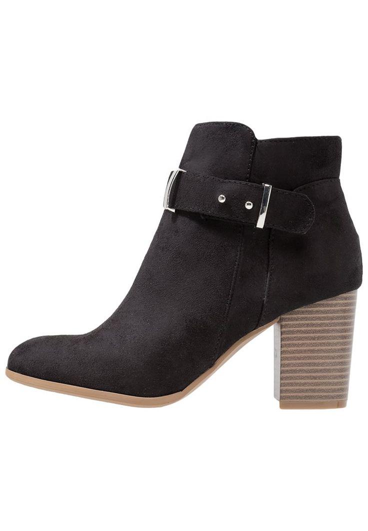 Anna Field Ankle Boot black Schuhe bei Zalando.de | Obermaterial: Textil, Innenmaterial: Lederimitat/ Textil, Sohle: Kunststoff, Decksohle: Lederimitat | Schuhe jetzt versandkostenfrei bei Zalando.de bestellen!