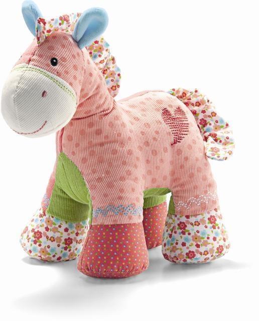 毛绒玩具*布艺公仔*粉红色马/狗狗
