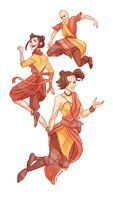 The last airbenders tenzin and the avatar