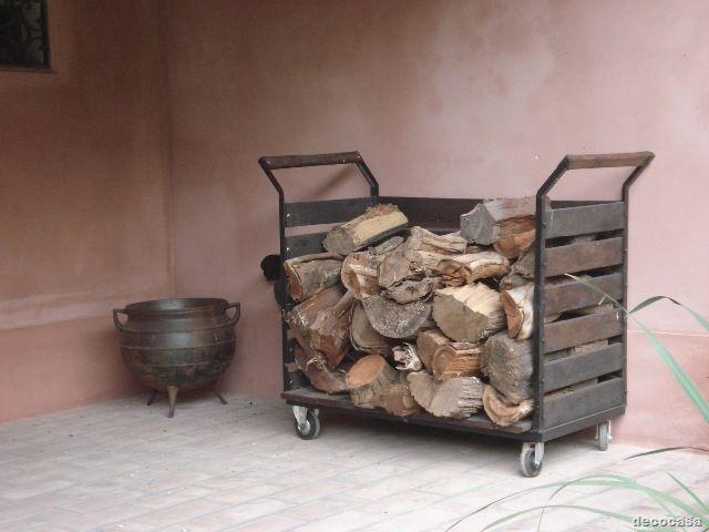 M s de 25 ideas incre bles sobre almacenamiento de le a en for Astillas de madera para jardin