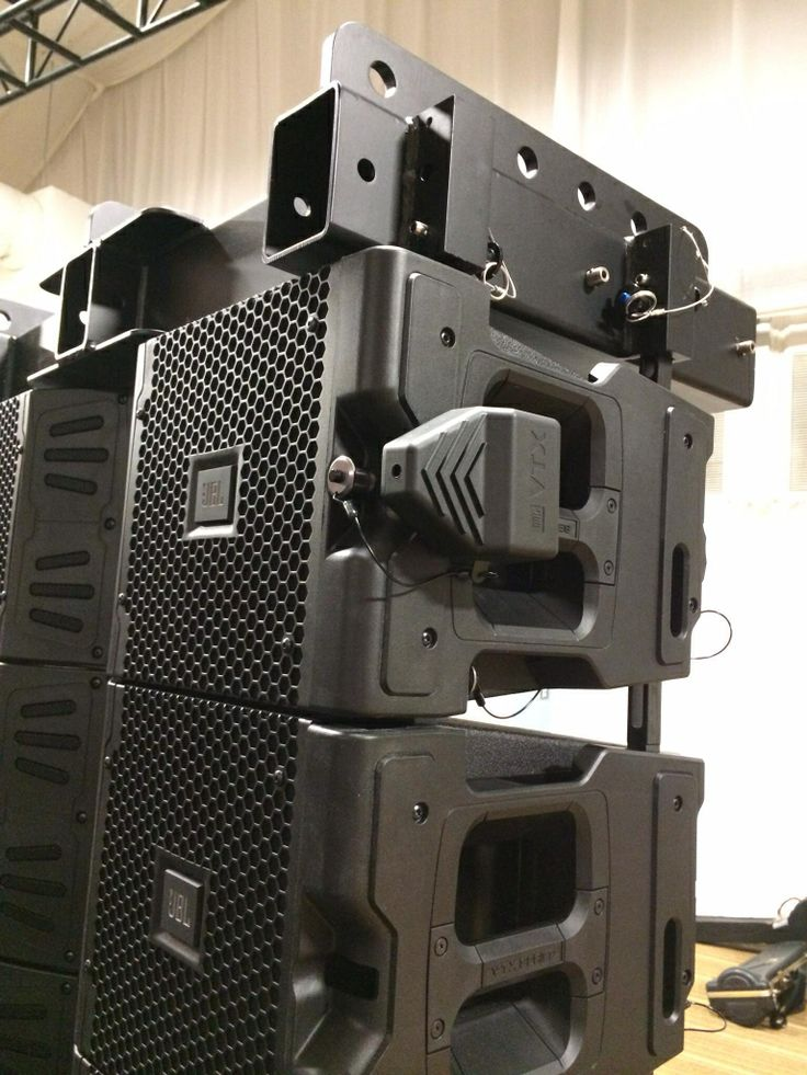 JBL VTX 20 with fly ware and laser system