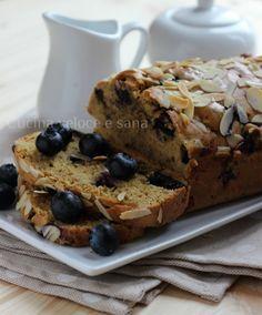 Plumcake al farro e mirtilli | Cucina veloce e sana