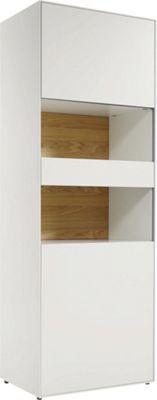 """<div>Diese Vitrine vollendet Ihre Vorstellung vom perfekten Wohnzimmer. Das Möbel aus der Serie """"now! easy"""" von HÜLSTA eignet sich für Individualisten und kreative Köpfe. Die Serie begeistert durch ihren individuellen, <b>minimalistischen Stil</b>, der zum Kombinieren und Variieren der einzelnen Möbelstücke anregt. So können Sie sich den Traum von einem puristischen Wohnzimmer ganz nach Ihrem Belieben erfüllen.</div><div><br></div><div>Mit der Vitrine in strahlendem Weiß sichern Sie sich…"""