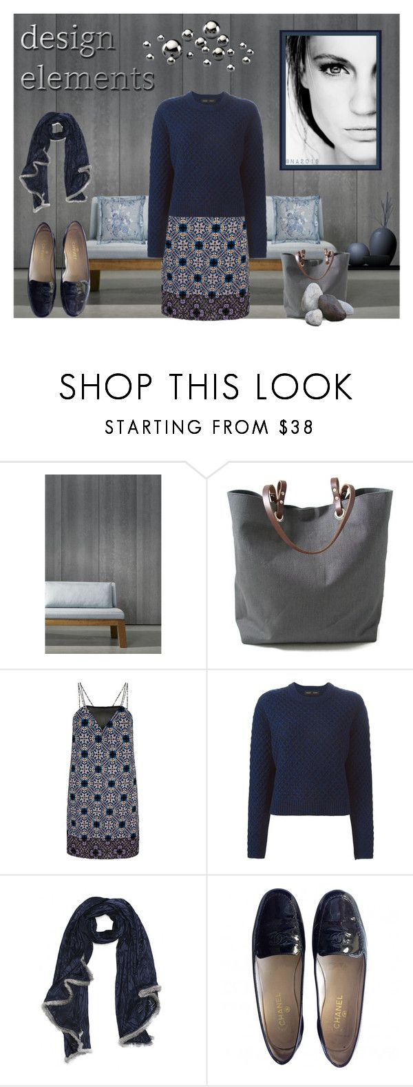 """ELEMENTS"" by menina-ana ❤ liked on Polyvore featuring moda, NLXL, Independent Reign, Mela Loves London, Proenza Schouler, GE, Chanel e Ralph Lauren"