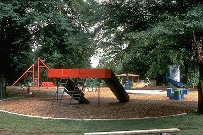 детская площадка Луи Кана и Исаму Ногучи - Поиск в Google