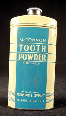 Tooth Powder made in Winona, MN www.visitwinona.com
