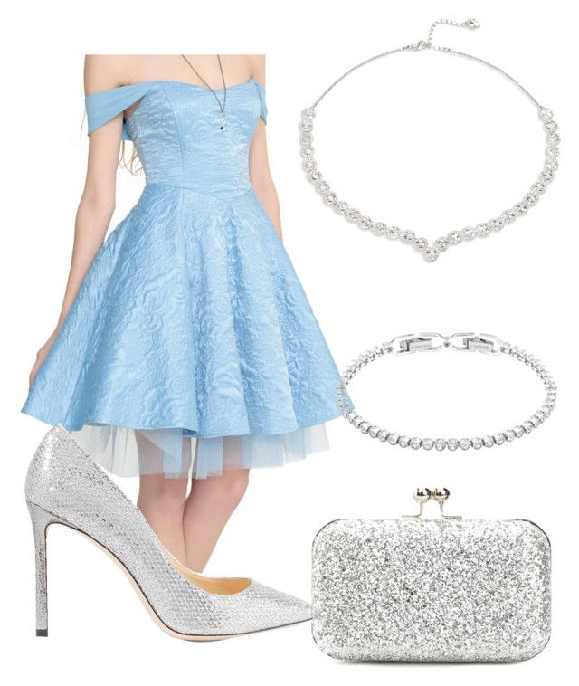 """""""Untitled #24"""" by devih on Polyvore featuring Disney, Jimmy Choo, Lulu Townsend and Swarovski"""