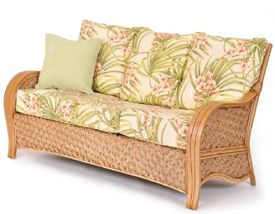 Milan Rattan Sofa L316 Seating Group by Seawinds Trading