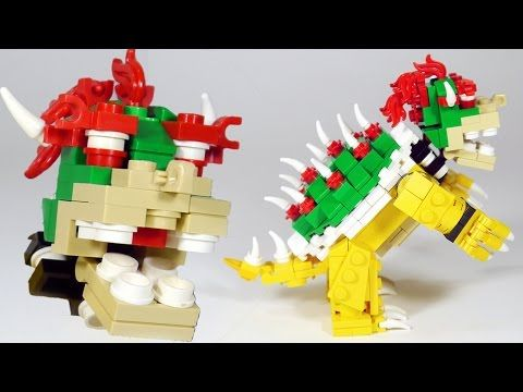 How To Build LEGO Bowser (Nintendo, Super Mario, Super Smash Bros.) - YouTube