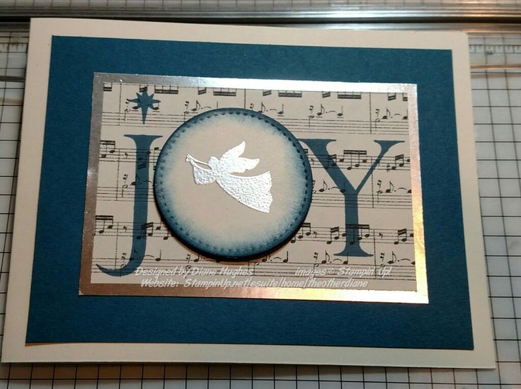 DH stitched joyful Nativity by diane617 - Cards and Paper Crafts at Splitcoaststampers
