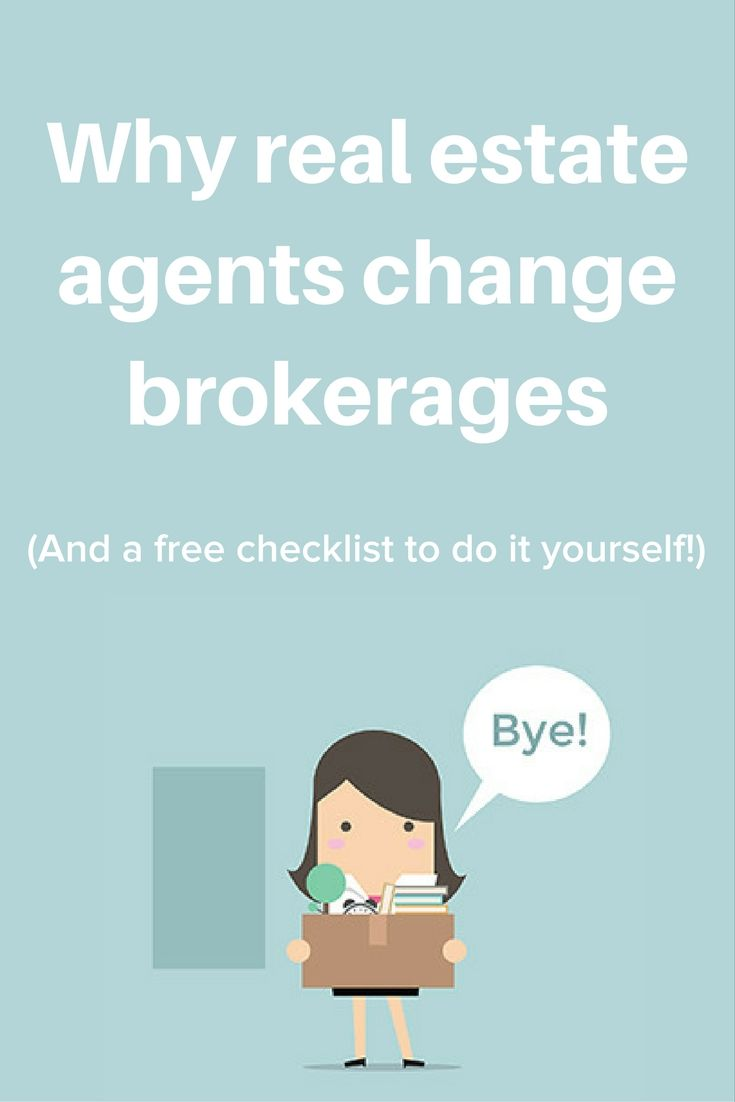 49 best inspiration for agents images on pinterest real estate why do real estate agents change brokerages solutioingenieria Gallery