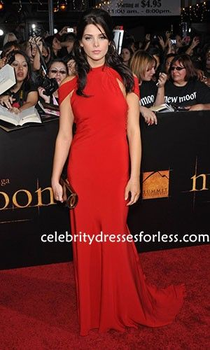 Ashley Greene Red Sexy Long Evening Dresses Online at The Twilight Saga New Moon Los Angeles premiere. Formal Dress.prom dresses,formal dresses,ball gown,homecoming dresses,party dress,evening dresses,sequin dresses,cocktail dresses,graduation dresses,formal gowns,prom gown,evening gown