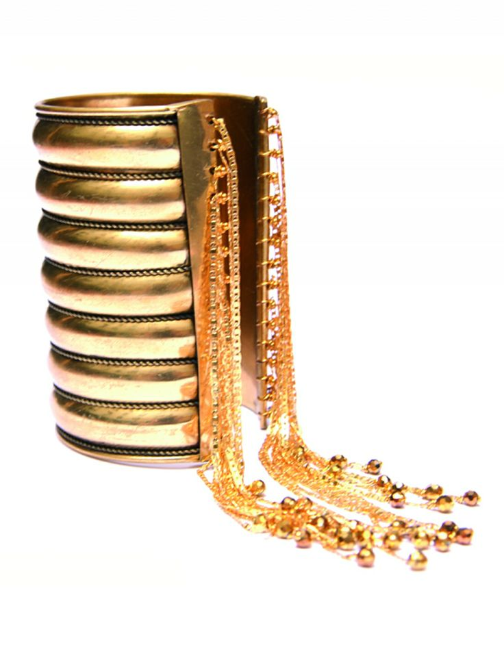Cuff - Eveil - Golden Size:One size,One Size