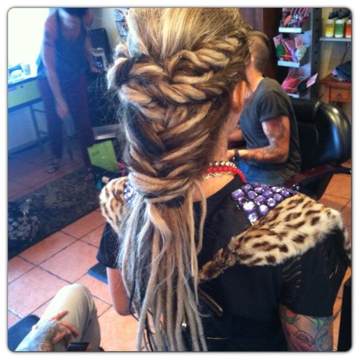 Oh I will definitely do this one day. When my dreads are long enough.