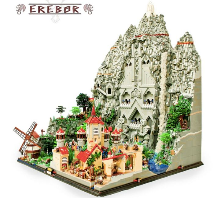 lego hobbit | Fans of The Hobbit are sure to appreciate this Lego Hobbit kingdom ...