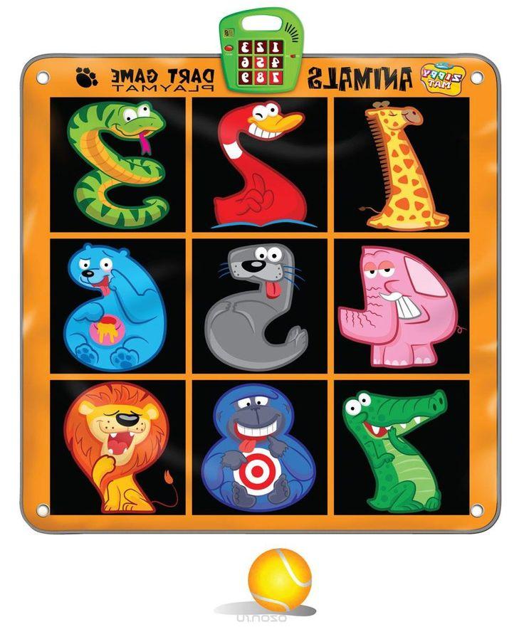 Ami&Co Игровой коврик музыкальный Дартс SLW9786
