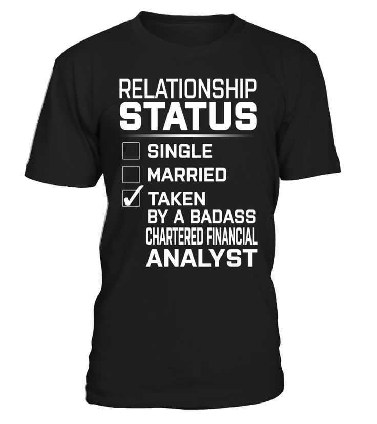 Chartered Financial Analyst - Relationship Status