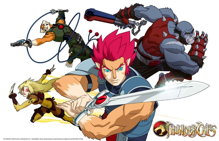 Thundercats, a remake of an old 80's cartoon fairly well done