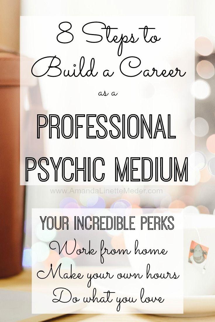 8 Steps To Becoming A Professional Medium Amanda Linette Meder Psychic Development Psychic Mediums Channeling Spirits