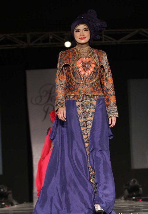 Model  Baju Muslim  Batik Remaja  Modern Model  Busana
