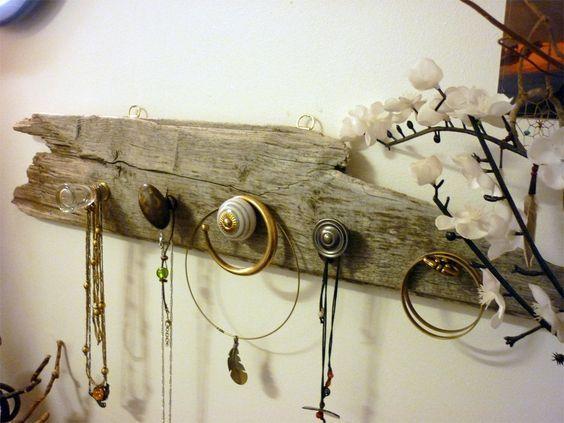 78 best id es propos de bijoux en bois flott sur. Black Bedroom Furniture Sets. Home Design Ideas