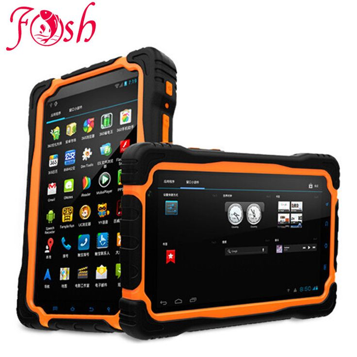 Original XENO T70 Tablet PC 7Inch Cell Phone MT6589 Quad 1.5Ghz IP68 waterproof Shockproof 1GB/16GB 8MP 9650mAh RS232 GPS T71