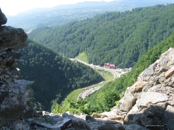 Cetatea Poenari, Arges, Romania 2010