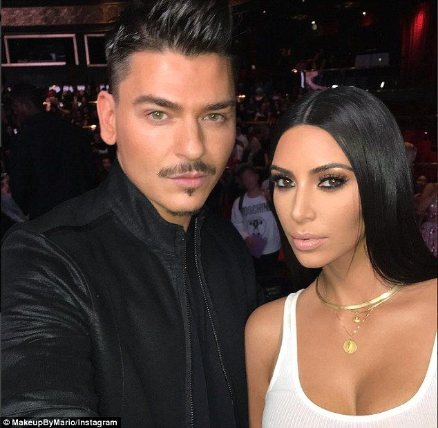 She's back with a vengeance: Kim Kardashian glowed - literally - at her makeup Masterclass in Dubai on Friday