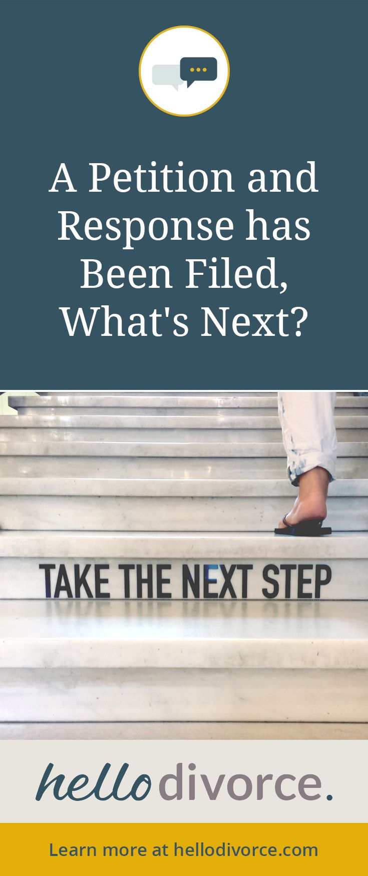 A #California #divorce #petition and #response has been #filed. What's next? Sign up for free access to self help. #DIYdivorce #divorcehelp #divorcecoach #divorceprocess #divnav #yougotthis
