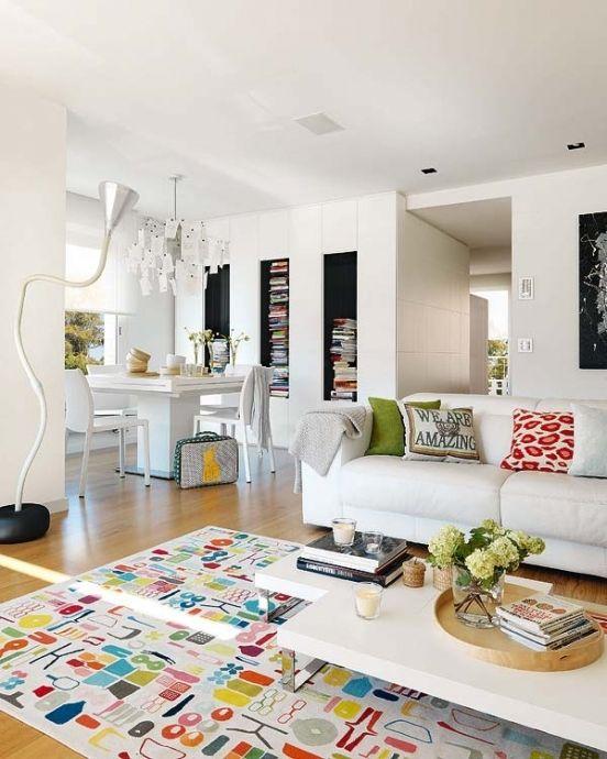 Красочный дизайн интерьера небольшой квартиры - Дизайн интерьеров   Идеи вашего дома   Lodgers
