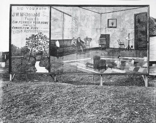 Walker Evans Furniture Store Sign, Birmingham, Alabama 1936