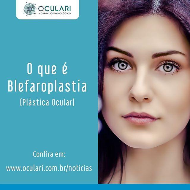 Saiba tudo sobre a Blefaroplastia, uma plástica ocular indicada para o rejuvenescimento do rosto, através da retirada do excesso de pele das pálpebras.  Acesse www.oculari.com.br/noticias e leia a matéria completa.  #oculari #hospitaloftalmologico  #oftalmologia #oftalmologista #blefaroplastia #plasticaocular #palpebra #rejuvenescimento #montesclaros #janauba #salinas #montereylocals #salinaslocals- posted by Oculari Hospital Oftalmológico…