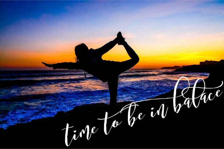 Auch wenn's schwierig wird in Balance bleiben....
