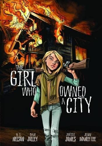 The Girl Who Owned a City -- this graphic novel version of the classic 1975 dystopian novel tells the story of a girl trying to rebuild a civilization of children after a deadly virus has eradicated every adult on earth.Dan Jolley, Book Lists, Graphics Novels, Dystopian Book, Graphic Novels, Book Worth, Girls Generation, Mighty Girls, Earth Kill
