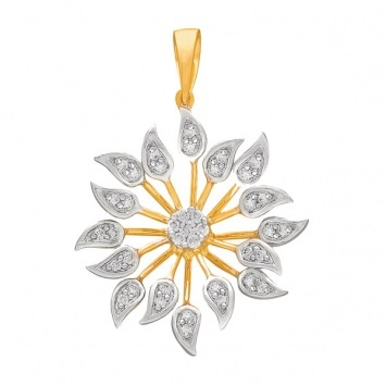 Tiya #diamond #pendant
