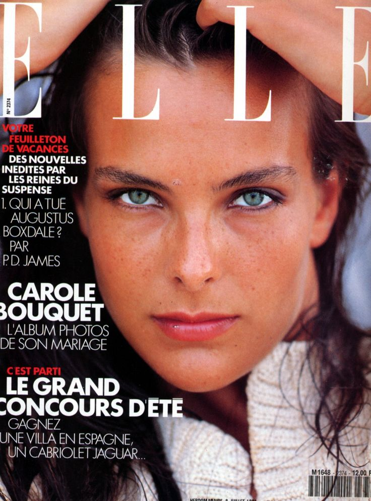 carole bouquet carole is a french actress and fashion model - Carole Bouquet Mariage 1991