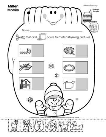 rhyming practice is an important part of this mitten themed activity and so is making a really. Black Bedroom Furniture Sets. Home Design Ideas