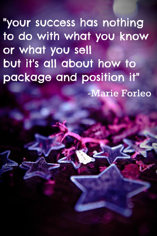 wise words from B School founder Marie Forleo