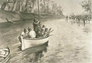 """BOOK REVIEW: Forgotten War JAMES ROSE  Henry Reynolds' new book explores the dark history of Australia's Frontier Wars and finds that Australian history is in denial. Let's go fishing. With E.H.Carr. It was Carr, the celebrated relativist historiographer, who wrote in his circuit-breaking """"What is History"""", """"(Historical facts) are like fish swimming in a vast and sometimes inaccessible ocean;  http://blogs.crikey.com.au/truthtotell/2013/09/24/book-review-henry-reynolds-frontier-wars/"""