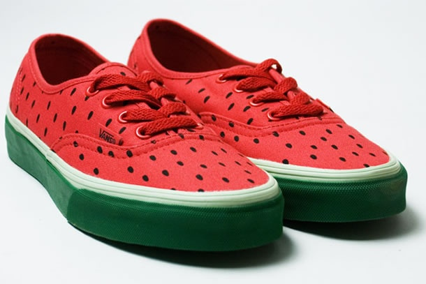 You obviously can't eat it, but ... we still want to. Le scarpe anguria by Vans