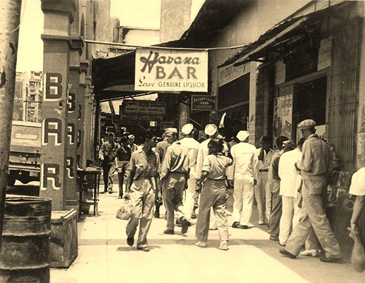 Post WW2 photo of the Havana Bar (ctto)