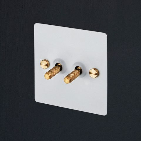 2G TOGGLE SWITCH / all finishes