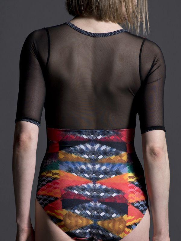Natalie Leotard with Sleeves