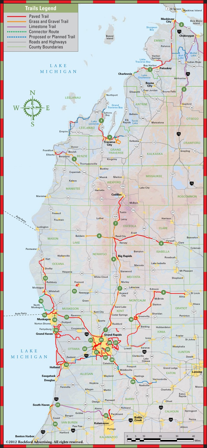 West Michigan Trails Magazine  Get Maps  Michigan